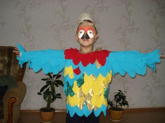 Костюм попугая своими руками - Для воспитателей детских садов - Маам.ру