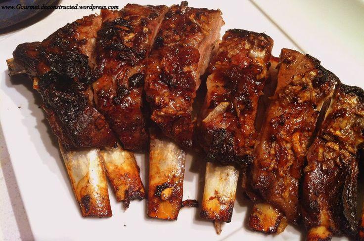 Honey Roasted Breast Of Lamb « Gourmet De-Constructed