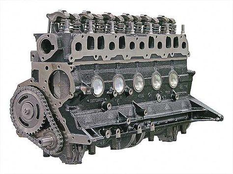 Mopar Performance 4.7L Stroker Long-Block retrofit engine to replace the 232, 258, 4.2L and 4.0L ...