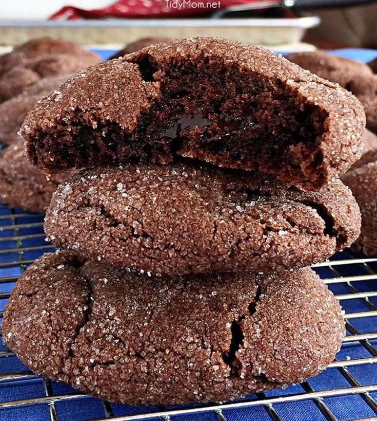"<p>Recipe: <a href=""https://tidymom.net/2016/hot-fudge-filled-chocolate-lava-cookies/"" target=""_blank"" rel=""noopener"">Hot Fudge Filled Chocolate Lava Cookies</a> </p>"