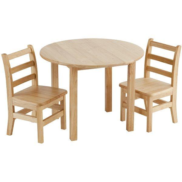 Hardwood Table Chairs Set