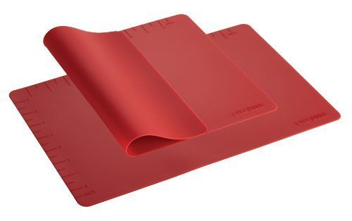 Cake Boss Countertop Accessories 2Piece Silicone Baking Mat Set Red -- Find out more about the great product at the image link.