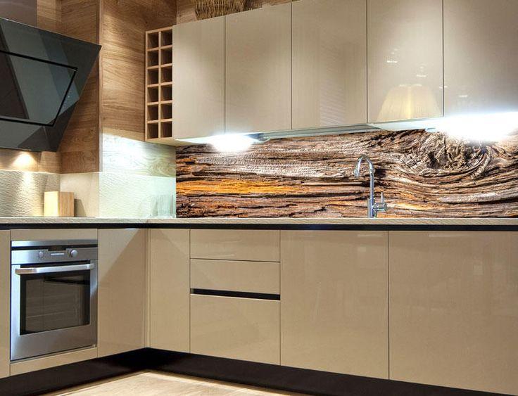 DIMEX | KI-180-062 Fototapeta do kuchyně Kůra stromu | 180 x 60 cm | hnědá