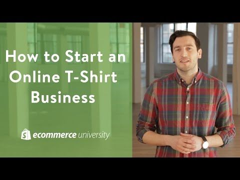 Start a t-shirt business with no inventory | HOW TO START A CLOTHING COMPANY