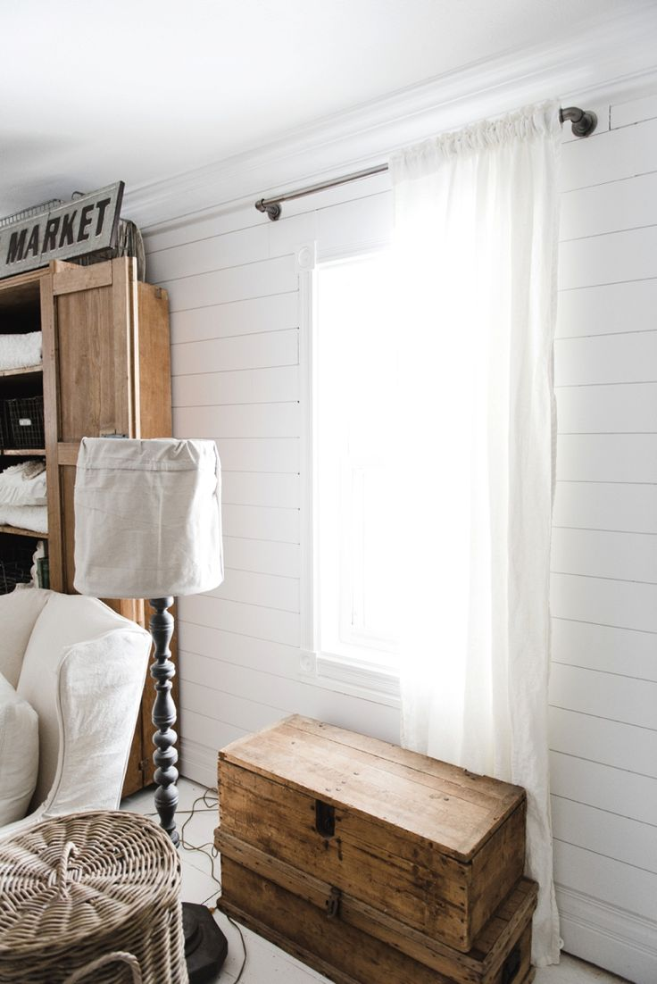 The Best Way to Choose the Colour of Your Curtain Rods | Maria Killam