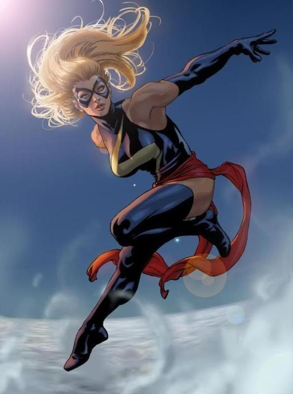 Ms. Marvel ~ art by David Yardin