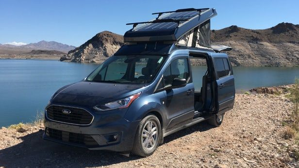 Ursa Minor Pops The Top On The Ford Transit Connect To Create