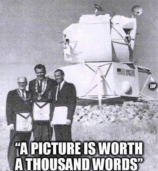 Elite Masons are the slaves for Illuminati who run this world.