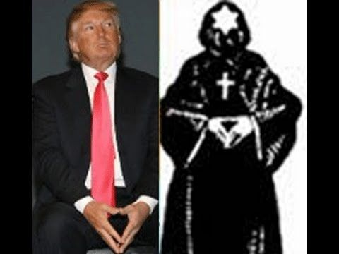 DONALD TRUMP, MASON, ZIONIST,SATANIST,THE DEVIL'S RUN FOR THE WHITE HOUSE - YouTube