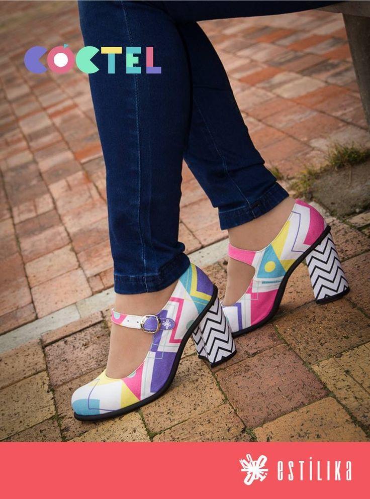 Te gustan nuestros zapatos de tacón Estilika? Coctel, ahora puedes visitarnos en nuestro sitio https://www.facebook.com/estilika/   Estílika #mujer #tendencia #moda #zapatos #diseñoindependiente #talentocolombiano