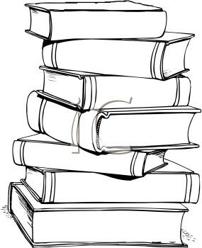 stack of books clipart - Google Search