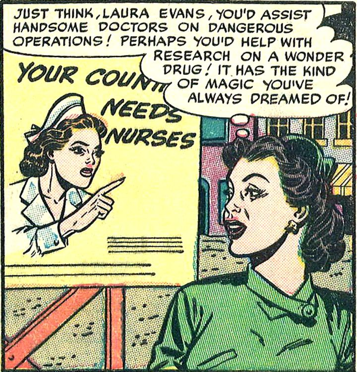 Free Comic Book Day History: 49 Best Images About Nurses In Comics On Pinterest