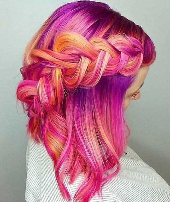 Best 25+ Unique hair color ideas on Pinterest | Unique ...
