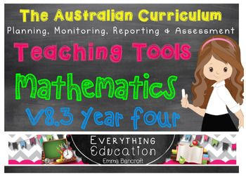 UPDATED TO THE NEW AC VERSION 8.3!ALREADY USED BY A NUMBER OF AUSTRALIAN SCHOOLSEDITABLE WORD AND PDF FORMAT INCLUDED**PLEASE NOTE that the purchase of this item is for the purchasers use in their classroom only. Additional licenses can be purchased if you wish to use this across your school.