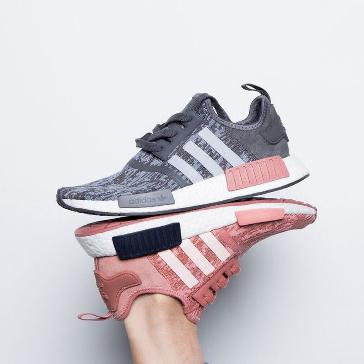 Release Date : September 1, 2017 Adidas NMD_R1 Grey / Raw Pink Credit : ChampsSports