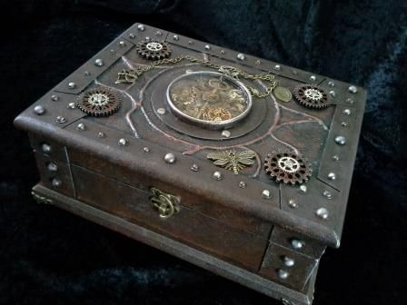 29 best Steampunk Boxes images on Pinterest Steampunk gadgets