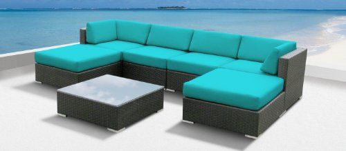 Luxxella Outdoor Patio Wicker MALLINA Sofa Sectional Furniture 7pc All Weather Couch Set TURQUOISE Luxxella,http://www.amazon.com/dp/B009GL05R2/ref=cm_sw_r_pi_dp_BKv3sb09QFZG421W