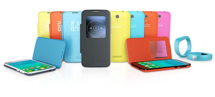 ALCATEL ONETOUCH presentó en el #MWC2014 la nueva gama S'POP que llevará LTE a todos los usuarios! Elige el que más te guste: POP S3, S7 o S9, todos disponen del sistema de comunicación inhalámbrica, la más rápida del momento. Velocidad a todo color!