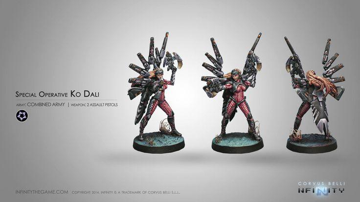 Special Operative Ko Dali (2 Assault Pistols)