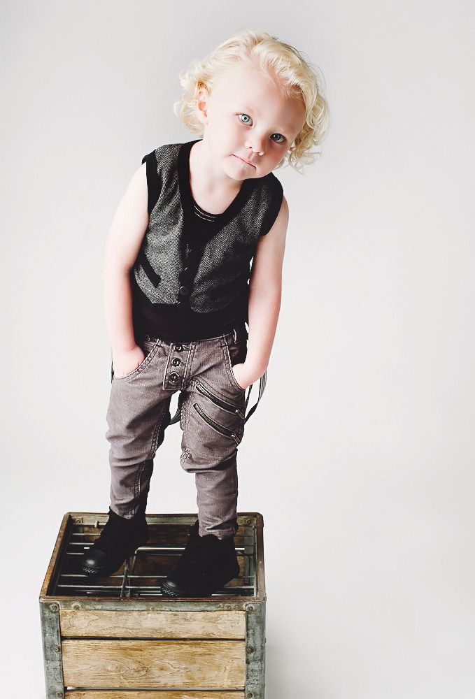 I love this stuff for little boys!!! It is SO hard to find cute stuff... LOVE these grey cords and little sweater vest!!! + Aven Clothing +