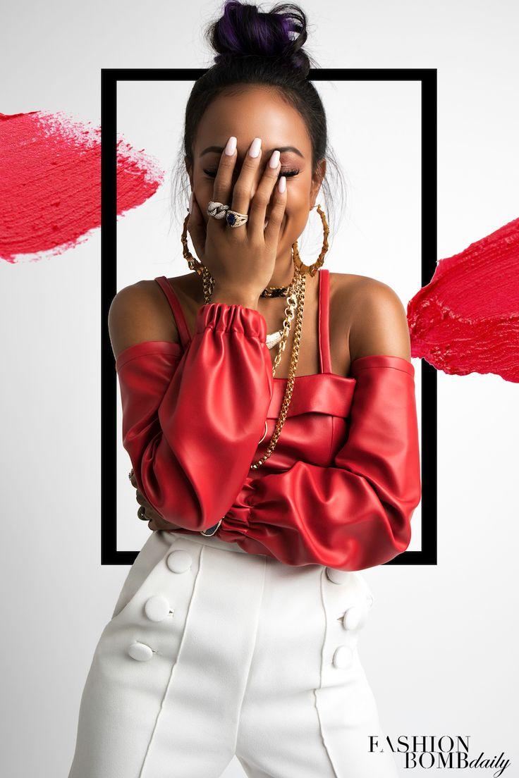 Fashion Bomb Daily x Revolt TV Exclusive: Karrueche Tran by Lance Gross - Fashion Bomb Daily Style Magazine: Celebrity Fashion, Fashion News, What To Wear, Runway Show Reviews