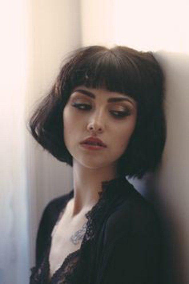 The Bob & Baby Bangs. For more ideas, click the picture or visit www.sofeminine.co.uk
