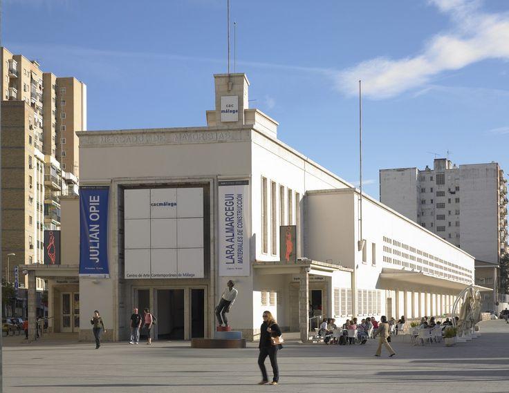 Emplazamiento de SMFE, CAC Málaga. #Arte #Cultura #Moderno #Desfile #Pasarela #Málaga #Moda