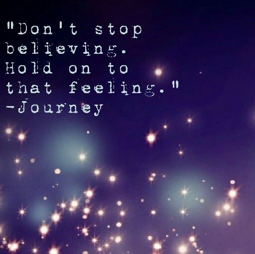 Journey - quotes - lyrics - don't stop believing . #quotes #lyrics #inspiration…