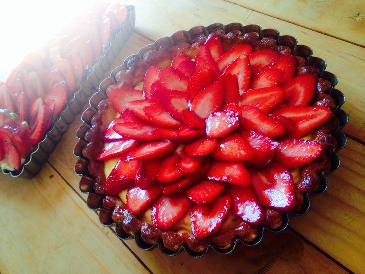 Strawberry tart!