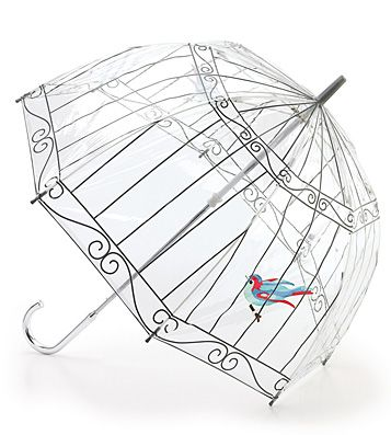 Lulu Guinness Birdcage Umbrella- I must have this <3