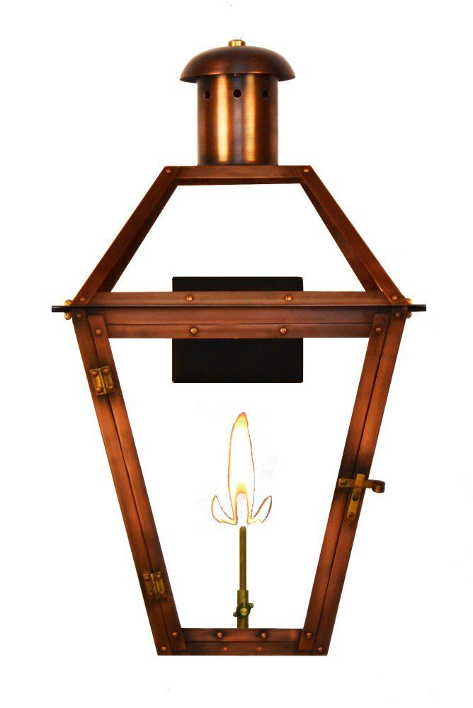 The Coppersmith Georgetown Gas And Electric Lantern Georgetown Gas And Electric Copper Lanternsgt Georgetown Electric Lanterns Copper Lantern Gas Lanterns