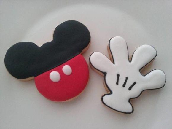 Biscoito decorado Mickey