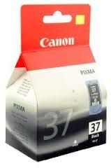 CANON PG-37BK Cartouche d'encre d'origine Canon Imprimantes compatibles : - Canon PIXMA iP1800 - Canon PIXMA iP2500 - Canon PIXMA iP2600 - Canon PIXMA MP140 - Canon PIXMA MP190 - Canon PIXMA MP210 - Canon PIXMA MP220