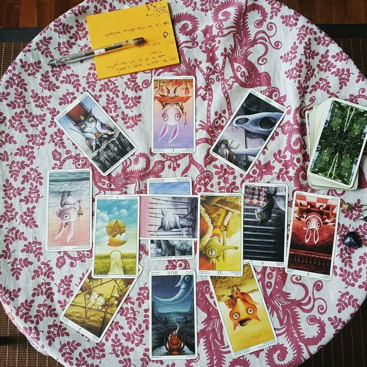 The Tarot of the Magical Forest