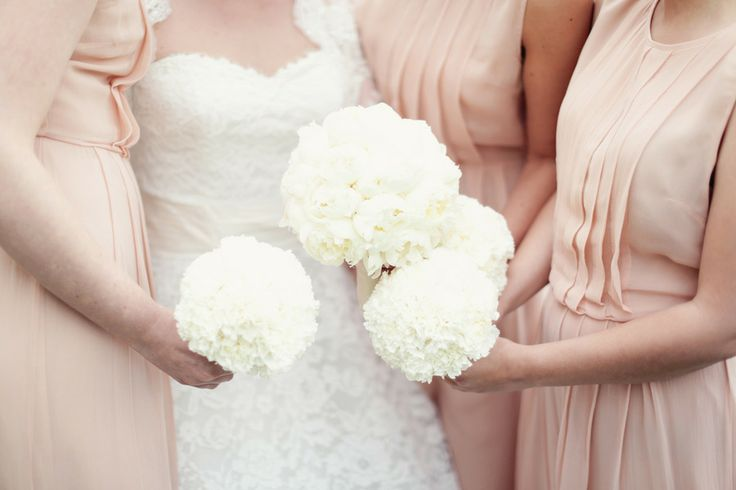 All White Bouquets | On SMP: http://www.stylemepretty.com/destination-weddings/2013/11/13/salzburg-austria-wedding-from-peaches-mint