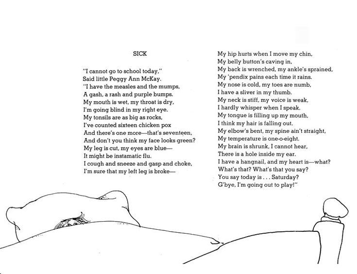 Funny Poems By Shel Silverstein