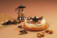 Κέικ με ταχίνι και ξηρούς καρπούς