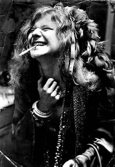 """Janis Joplin, there's nothing like her performance of Summertime...    """"On stage, I make love to 25,000 different people, then I go home alone."""""""