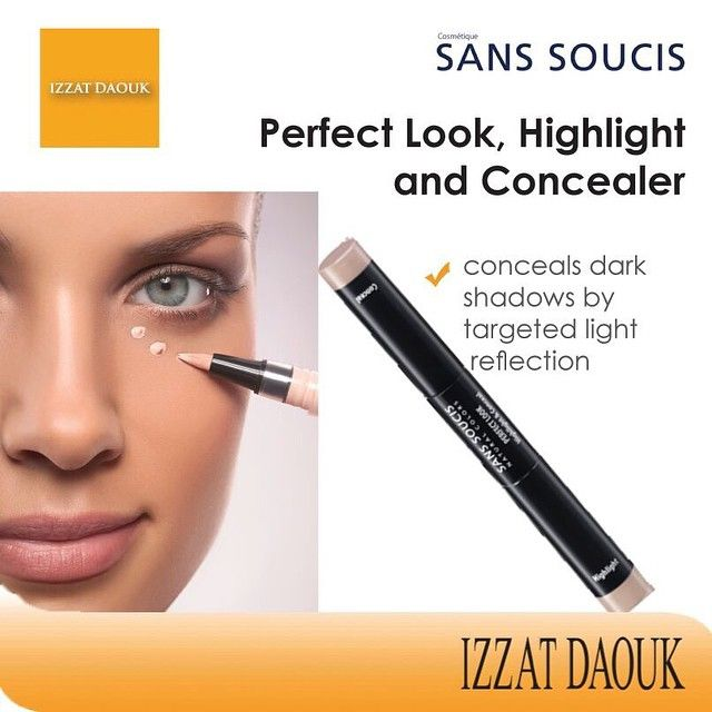 Here is a beauty item most women should have in their make-kit...Sans Soucis's concealer. Available in all Izzat Daouk stores. #LIVELOVELEBANON #fashion #fashionstyle #fashionblogger #loveit #hair #hairstyle #coolhair #tagsta #makeup #lipstick #lebanon #moda #beauty #makeupartist #cosmetics #hamrastreet #lebanese #beirut #thisishamra #wellness #instalike #instacool #tagsforlike #insta_lebanon