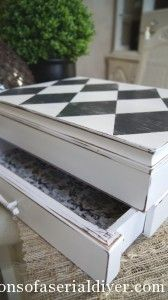 Plain Old Box gets a Harlequin Twist (& a How-to!) How to get perfect harlequins fast