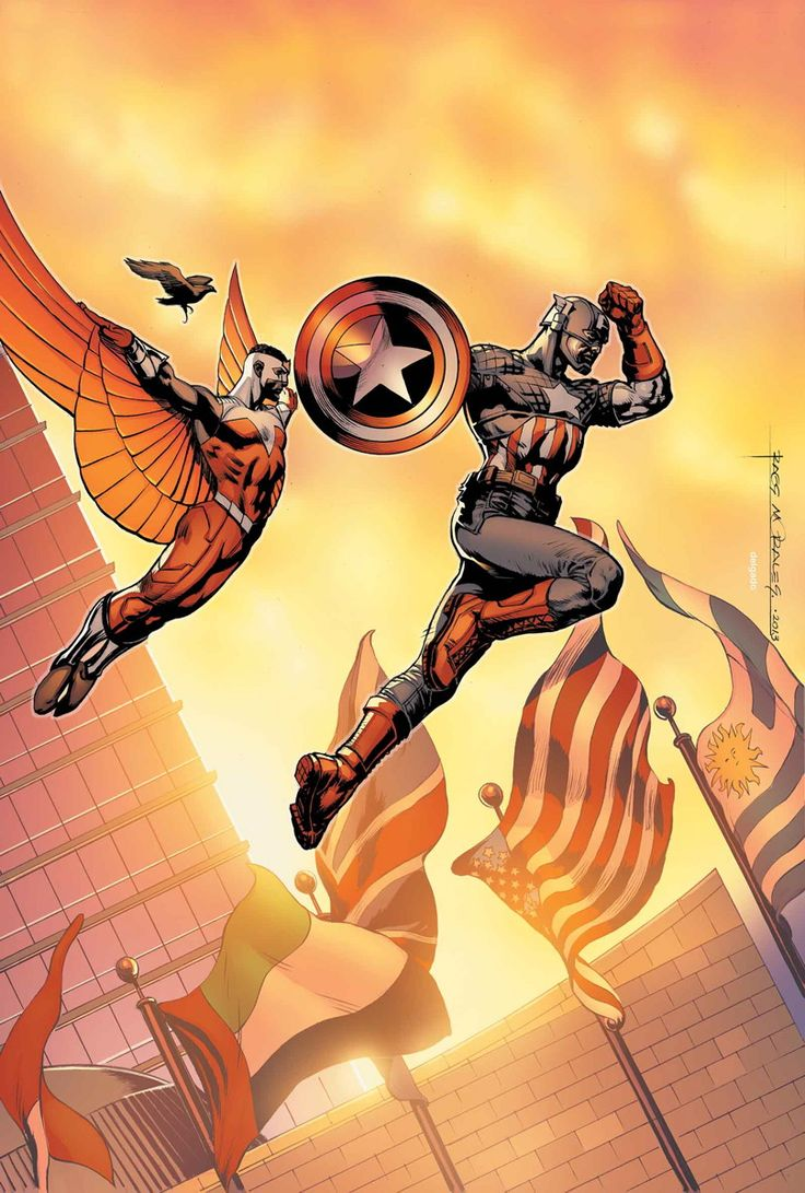 """CAPTAIN AMERICA #17 """"DR. MINDBUBBLE"""" PART 1 • The Weapon Minus program reopened! Now that it is, can Captain America put Dr. Mindbubble back inside? • The Iron Nail begins assassinating the heads of the five largest corporations. • With Captain America unhinged, Falcon and Jet Black are forced to make a terrible choice! 32 PGS./Rated T …$3.99"""