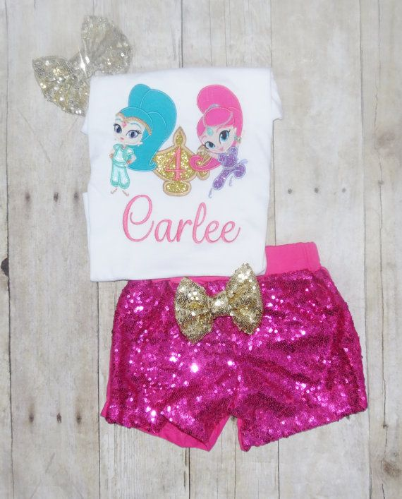 Shimmer and shine birthday outfit Shimmer and shine by MommaMays