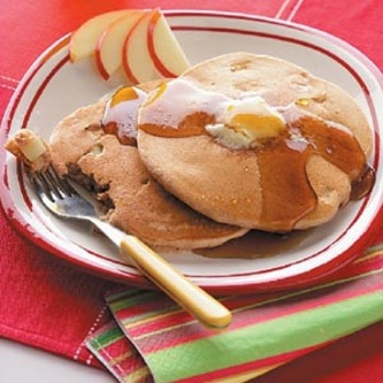 Cinnamon Apple Pancakes from Taste of Home