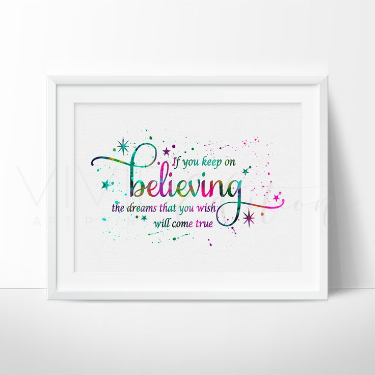 'If You Keep on Believing', Cinderella Quote
