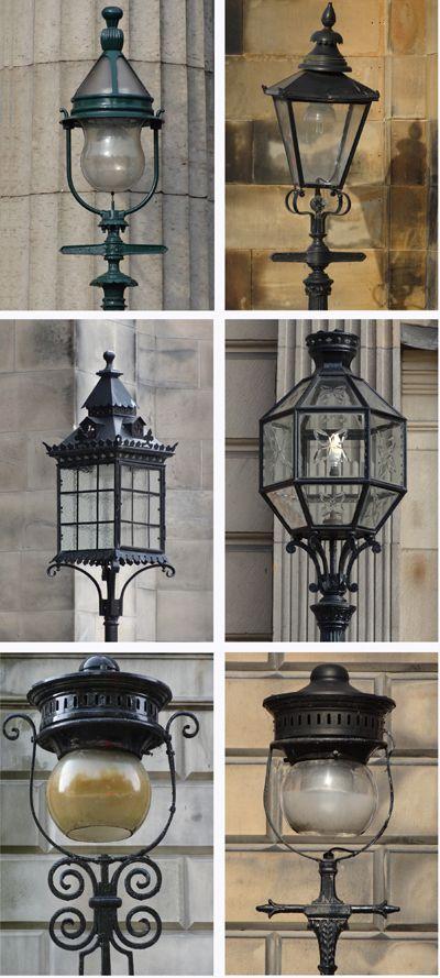 Edinburgh lamps