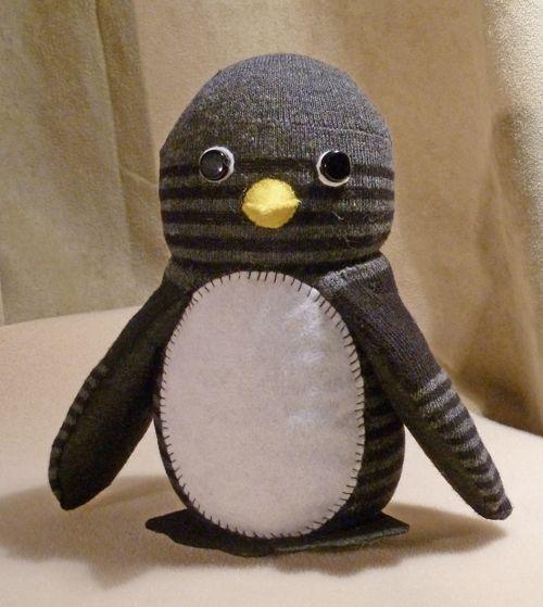 Sock Penguin - Way better than Sock Monkey