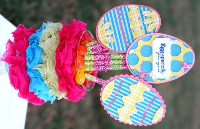 Chipboard Easter Egg Teacher Gift