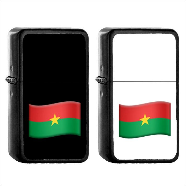 Flag For Burkina Faso 1pcs Oil Windproof Black Emoji Emoticon Lighters In 2020 Black Emoji Emoticon Flag