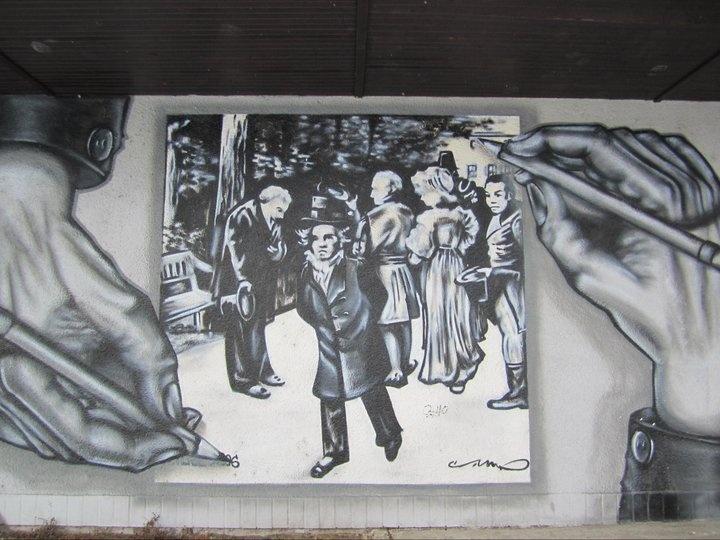 graffiti art- Teplice, CZ