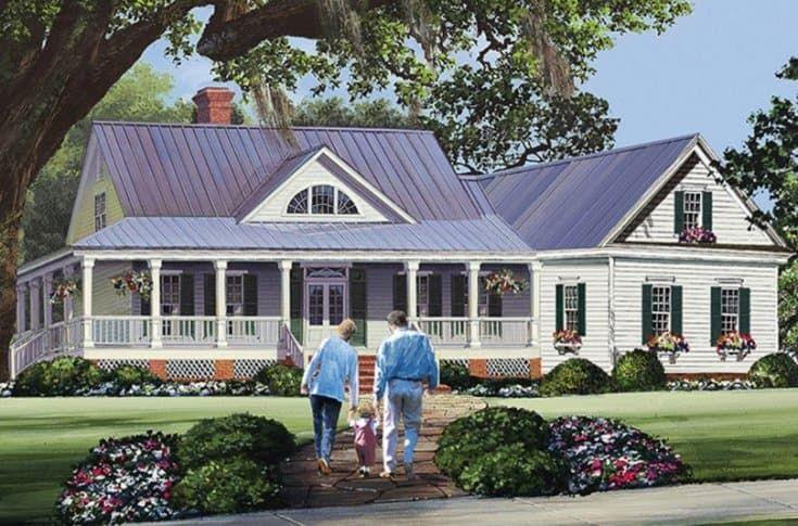 10 Coolest Farmhouse Plans For Your Inspiration Country House Plans Country Style House Plans House Plans Farmhouse